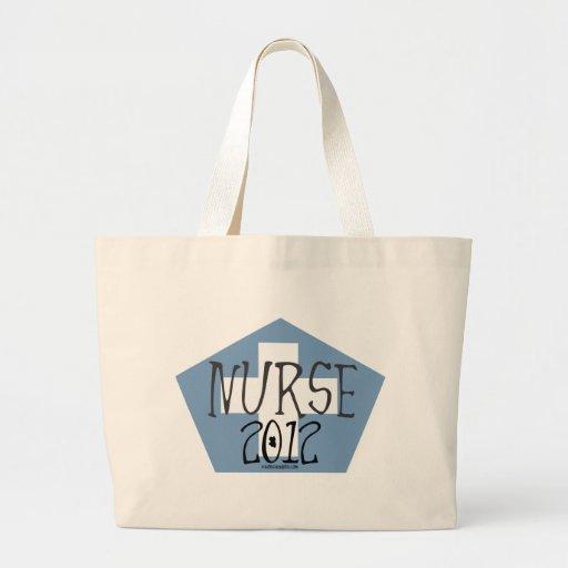 Nurse 2012 jumbo tote bag