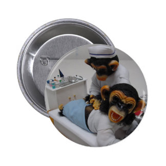 Nurse 2 Inch Round Button