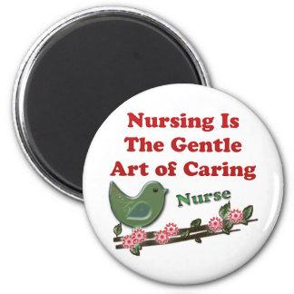 Nurse 2 Inch Round Magnet