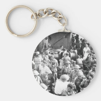 Nurse Among the Troops Key Chains