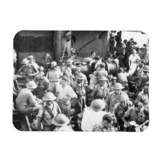 Nurse Among the Troops Rectangular Photo Magnet