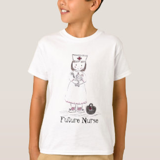 Nurse and Kitten T-Shirt