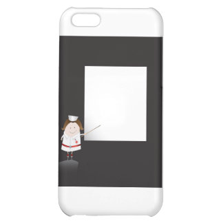 Nurse and whiteboard iPhone 5C cases