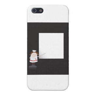 Nurse and whiteboard iPhone 5 cover