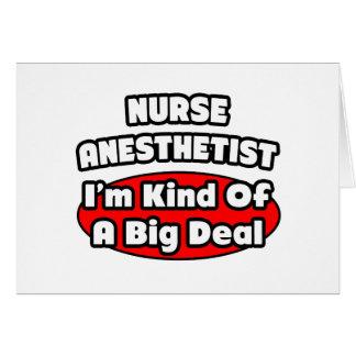 Nurse Anesthetist...Big Deal Card