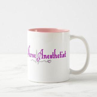 Nurse Anesthetist Gifts Two-Tone Coffee Mug