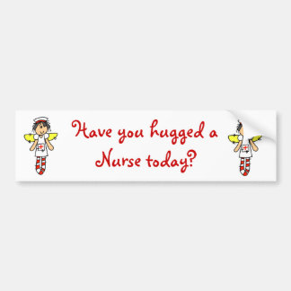 Nurse Angel Bumper Sticker