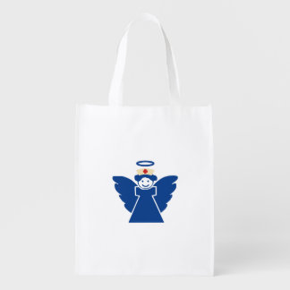 Nurse Angel Grocery Bag