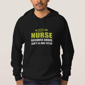 Nurse Angel Job Title Hoodie
