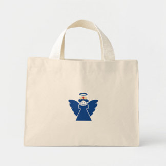 Nurse Angel Mini Tote Bag