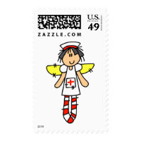Nurse Angel Postage