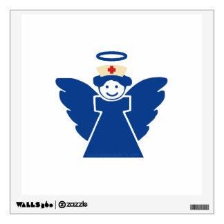 Nurse Angel Wall Decal