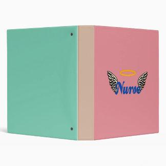 Nurse Angel Wings 3 Ring Binder