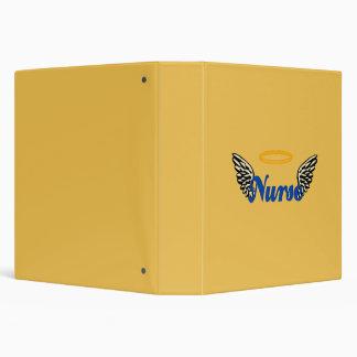 Nurse Angel Wings Binder