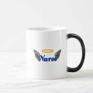 Nurse Angel Wings Magic Mug