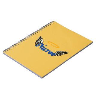 Nurse Angel Wings Notebook