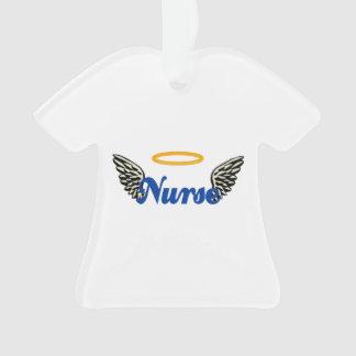 Nurse Angel Wings Ornament