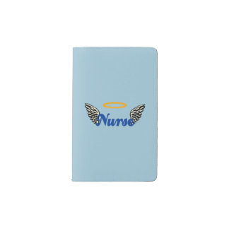 Nurse Angel Wings Pocket Moleskine Notebook