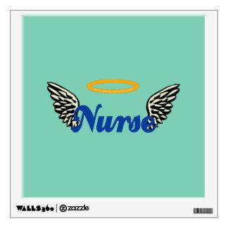 Nurse Angel Wings Wall Decal