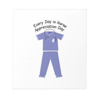 Nurse Appreciation Day Note Pads