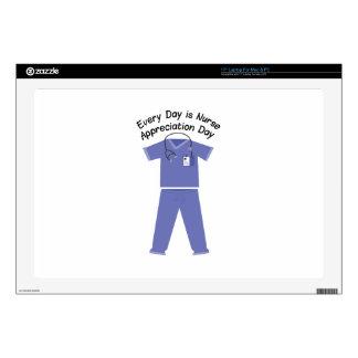 "Nurse Appreciation Day Decals For 17"" Laptops"