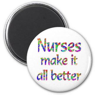 Nurse Appreciation 2 Inch Round Magnet
