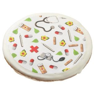 Nurse Appreciation Sugar Cookie