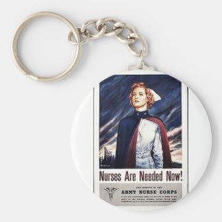 Nurse Are Needed Now! Keychain