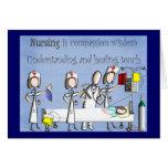 Nurse Art Gifts Greeting Card