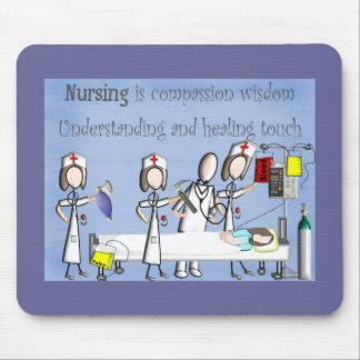 Nurse Art Gifts Mousepads