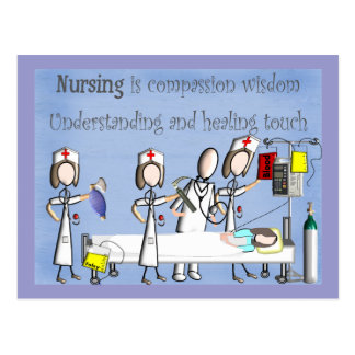 Nurse Art Gifts Postcard