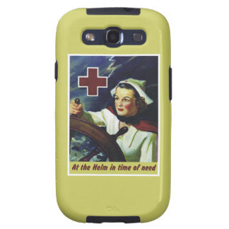 Nurse at the Helm Samsung Galaxy SIII Cover