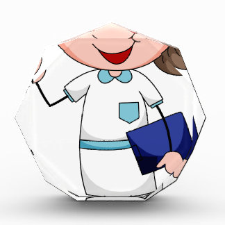 Nurse Acrylic Award