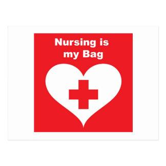 Nurse Bag Postcard