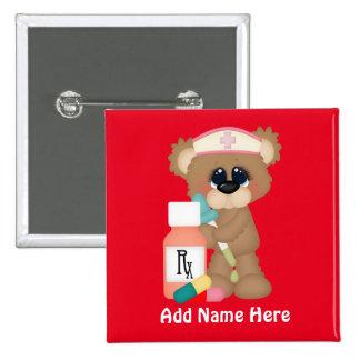 Nurse Bear add name button