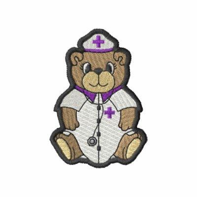 Nurse Bear Embroidered Jackets