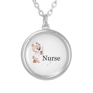 Nurse Bear Custom Necklace