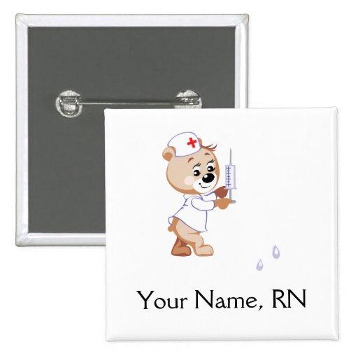 Nurse Bear Pin