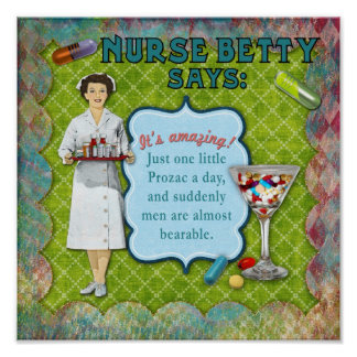 Nurse Betty Says Print