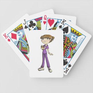 Nurse Bicycle Playing Cards