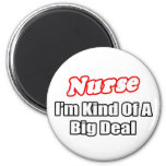 Nurse...Big Deal Fridge Magnets