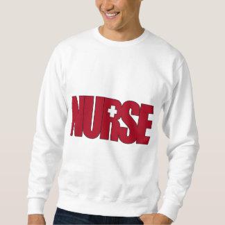 NURSE BIGRED with Cap Sweatshirt