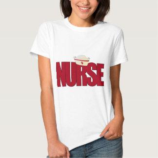 NURSE BIGRED with Cap T Shirt
