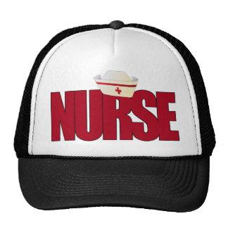 NURSE BIGRED with Cap Trucker Hat