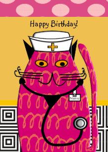 nurse birthday Nurse Birthday Cards   Zazzle nurse birthday