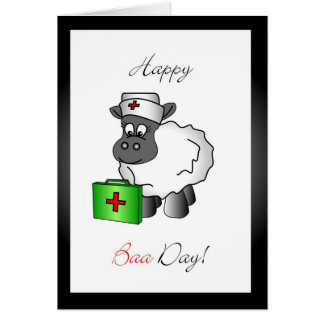 Nurse birthday greeting card