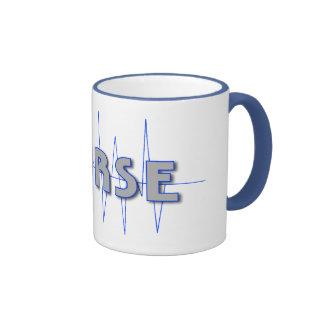 NURSE BLUE COFFEE MUGS