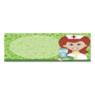 Nurse Double-Sided Mini Business Cards (Pack Of 20)
