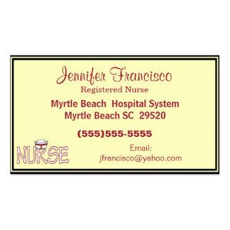 Nurse Business Card