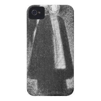 Nurse by Georges Seurat iPhone 4 Cases
